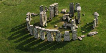 Stonehenge, aerial view